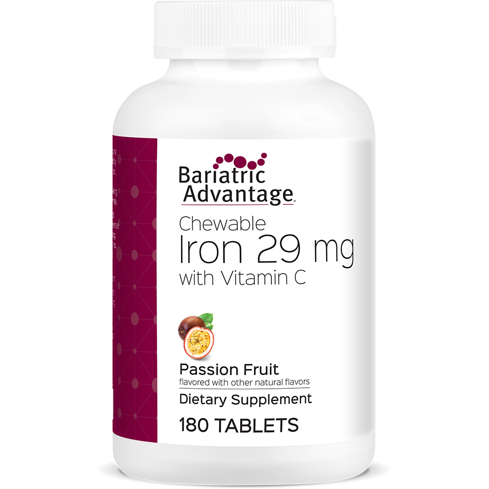 Passion Fruit Chewable Iron 29mg